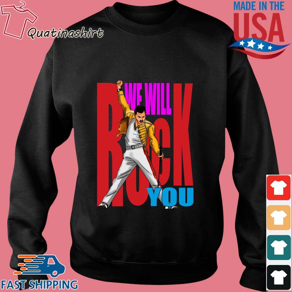 Freddie Mercury we will rock you s Sweater den