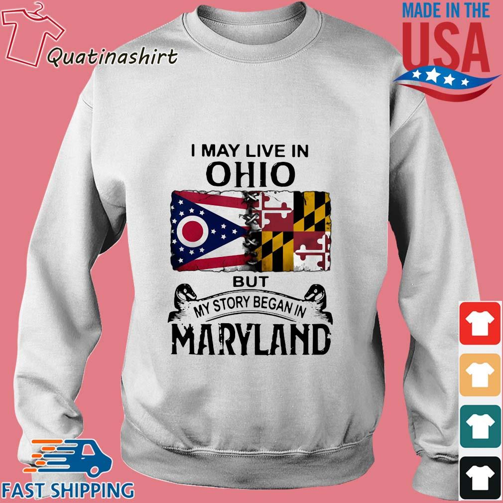 I may live in Ohio but my story began in maryland s Sweater trang