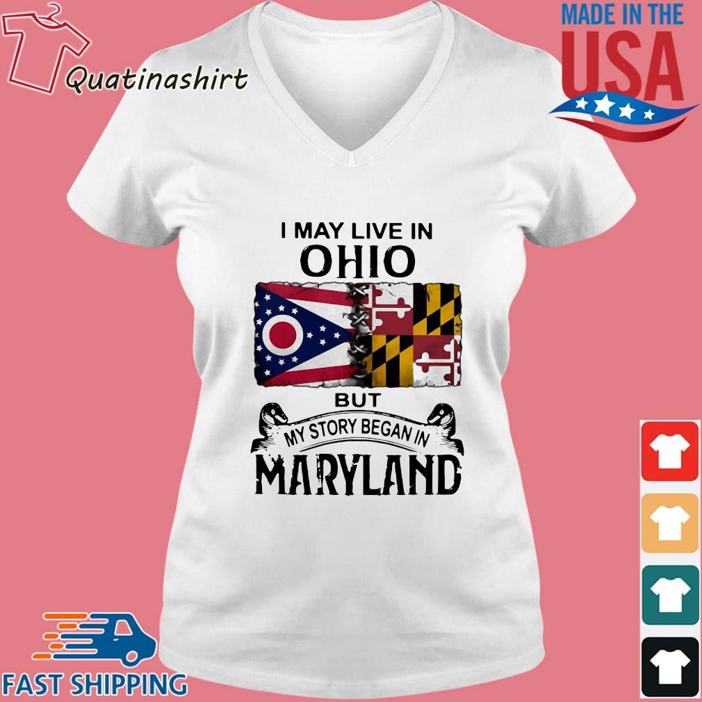 I may live in Ohio but my story began in maryland s Vneck trang