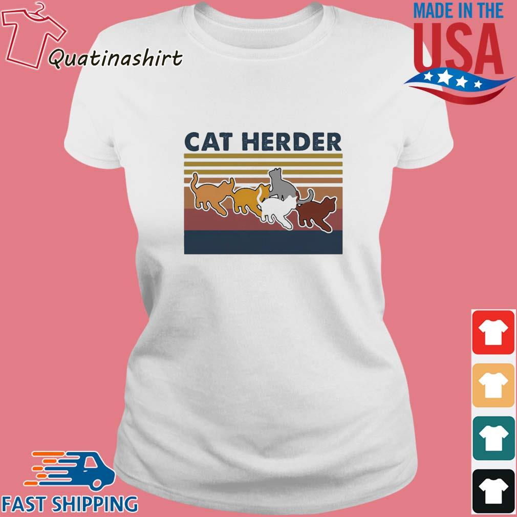 Cat herder Vintage s Ladies trang