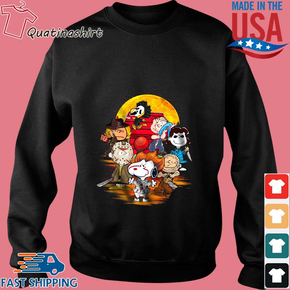 Halloween slash Snoopy Charlie Brown Horror character s Sweater den