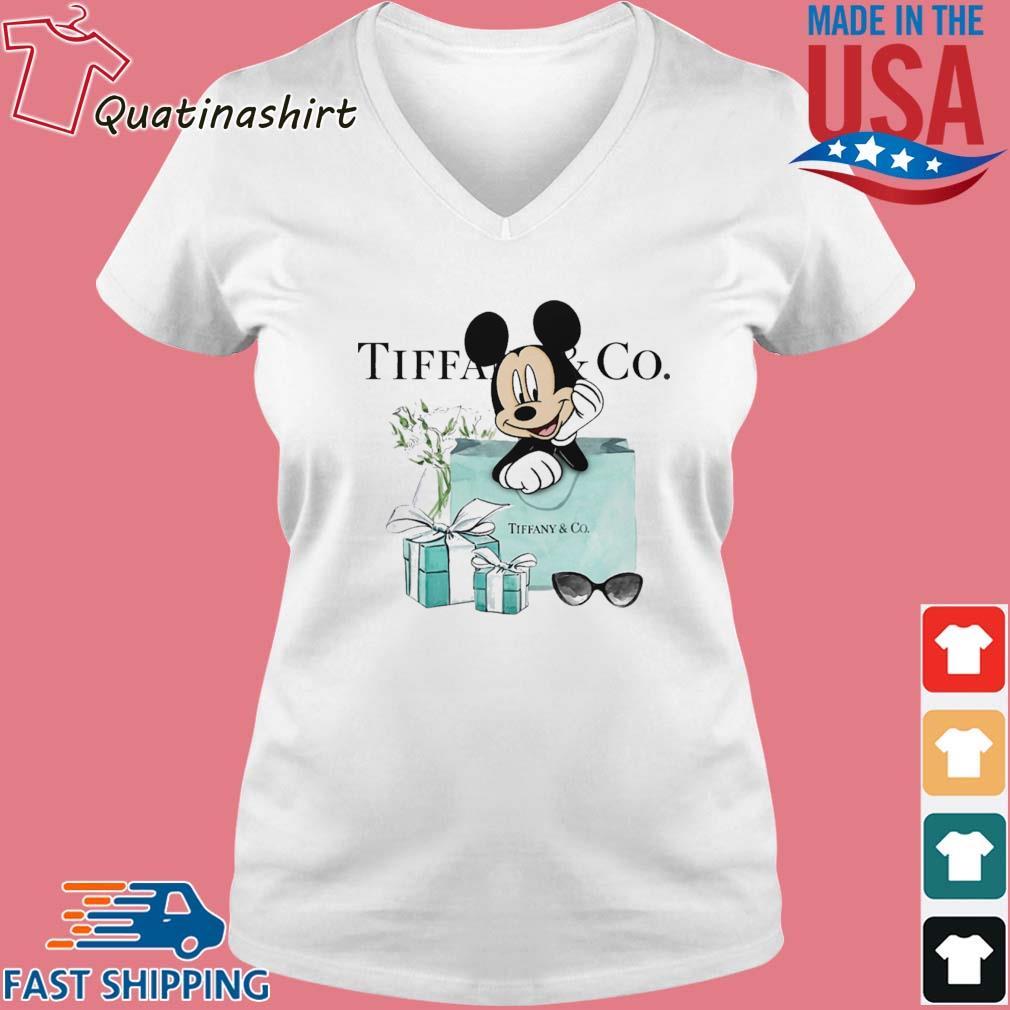 Mickey Mouse Tiffany _ CO s Vneck trang