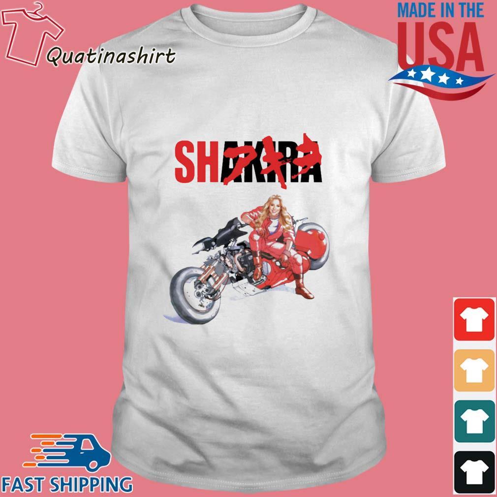 Motorcycle Shakira Akira shirt