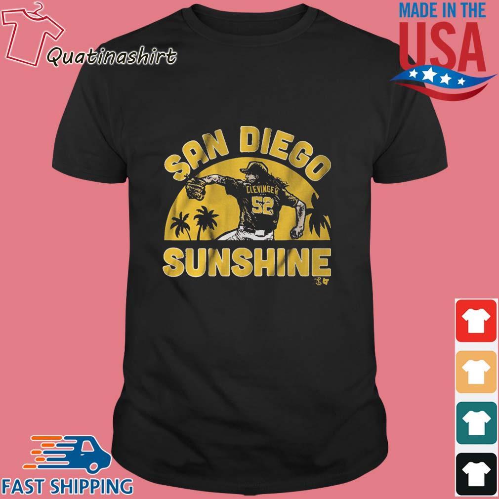 Mike Clevinger San Diego Sunshine shirt