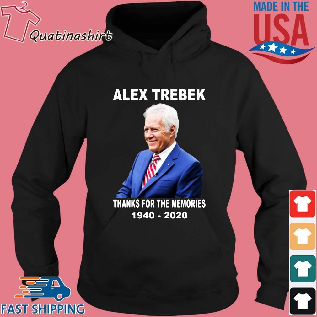 Alex Trebek thanks for the memories 1940-2020 s Hoodie den