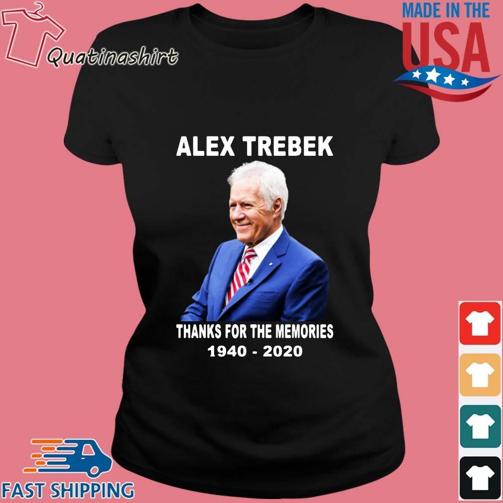 Alex Trebek thanks for the memories 1940-2020 s Ladies den