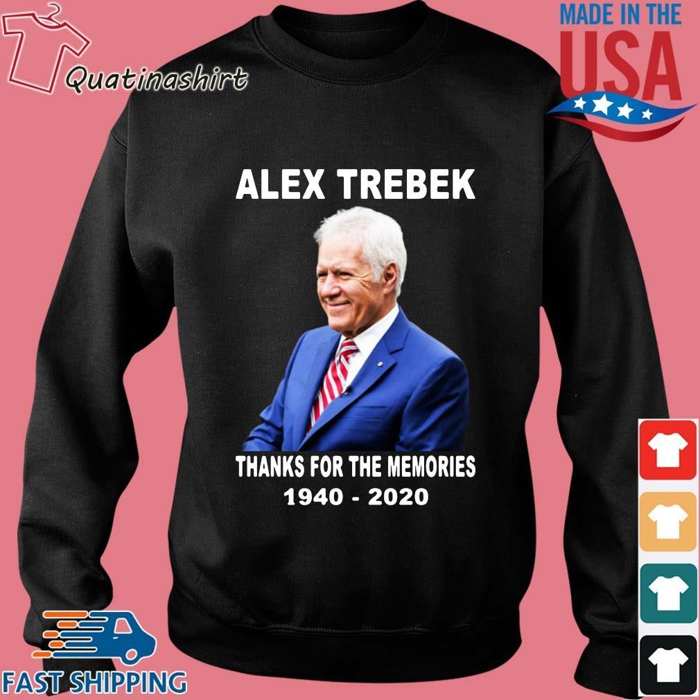 Alex Trebek thanks for the memories 1940-2020 s Sweater den