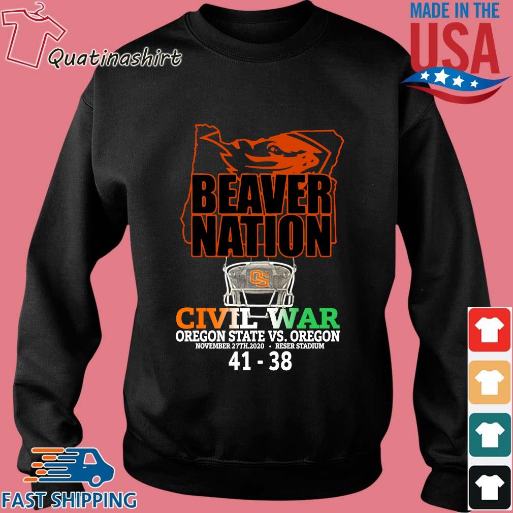 Beaver nation civil war Oregon State vs Oregon 4138 shirt