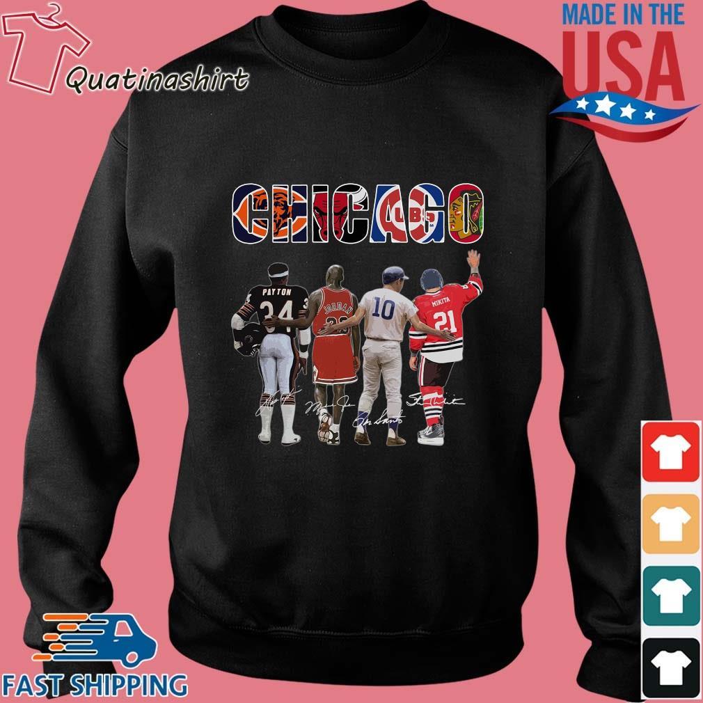 Chicago Chicago Bears Chicago Bulls Chicago Cubs Payton Jordan Mikita Signatures Shirt Sweater den