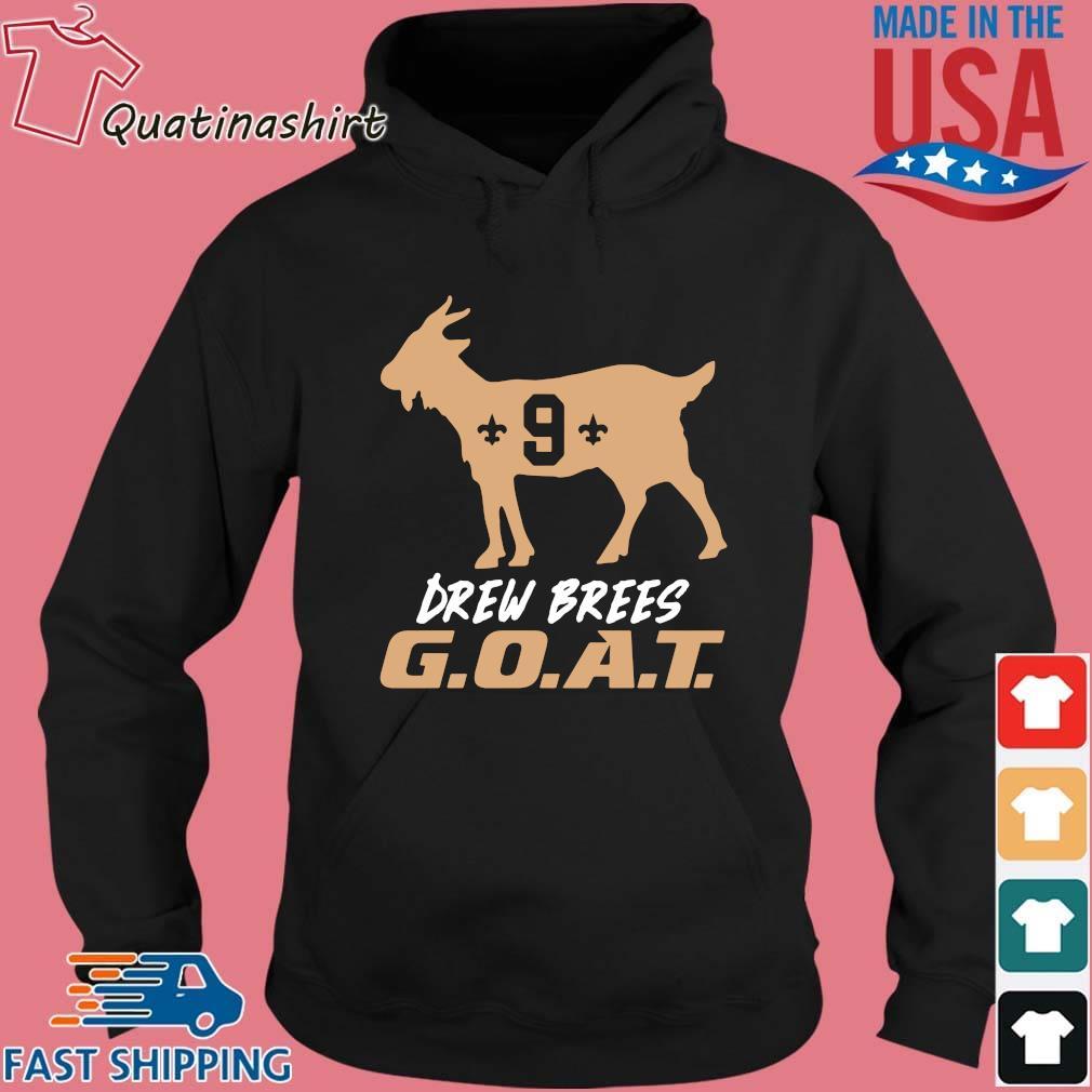 9 Drew Brees Goat New Orleans Saints Shirt Hoodie den