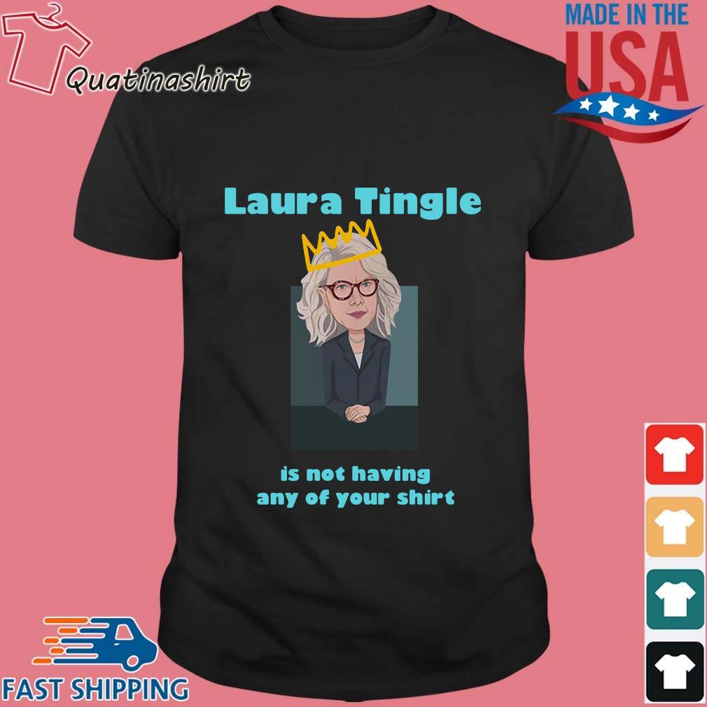 Laura Tingle Is Not Having Any Of Your Shirt