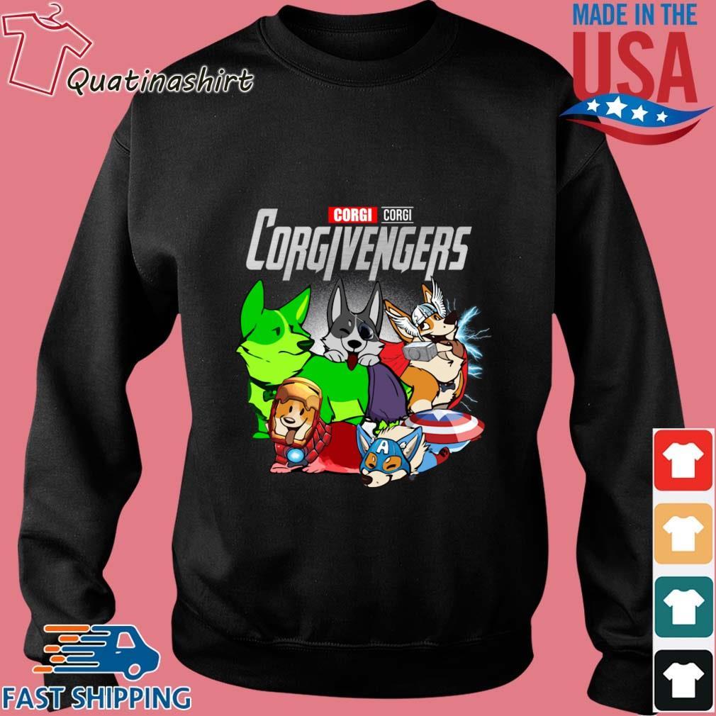 Corgi Corgivengers Avengers Shirt Sweater den