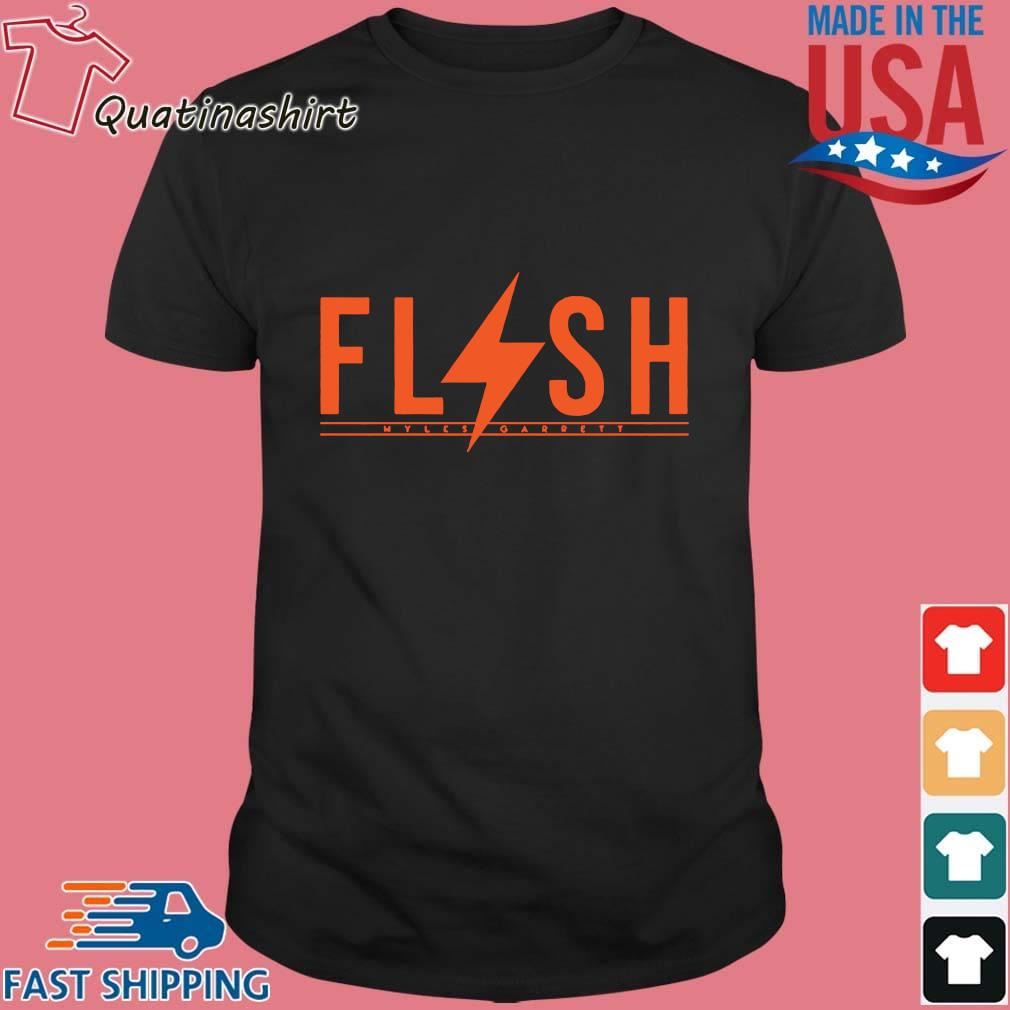 Flash Myles Garrett Shirt