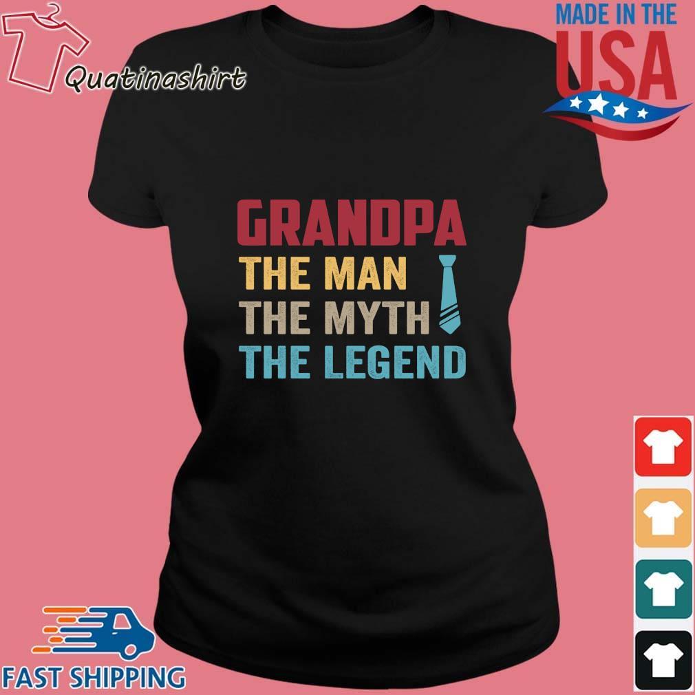 Grandpa the man the myth the legend vintage s Ladies den