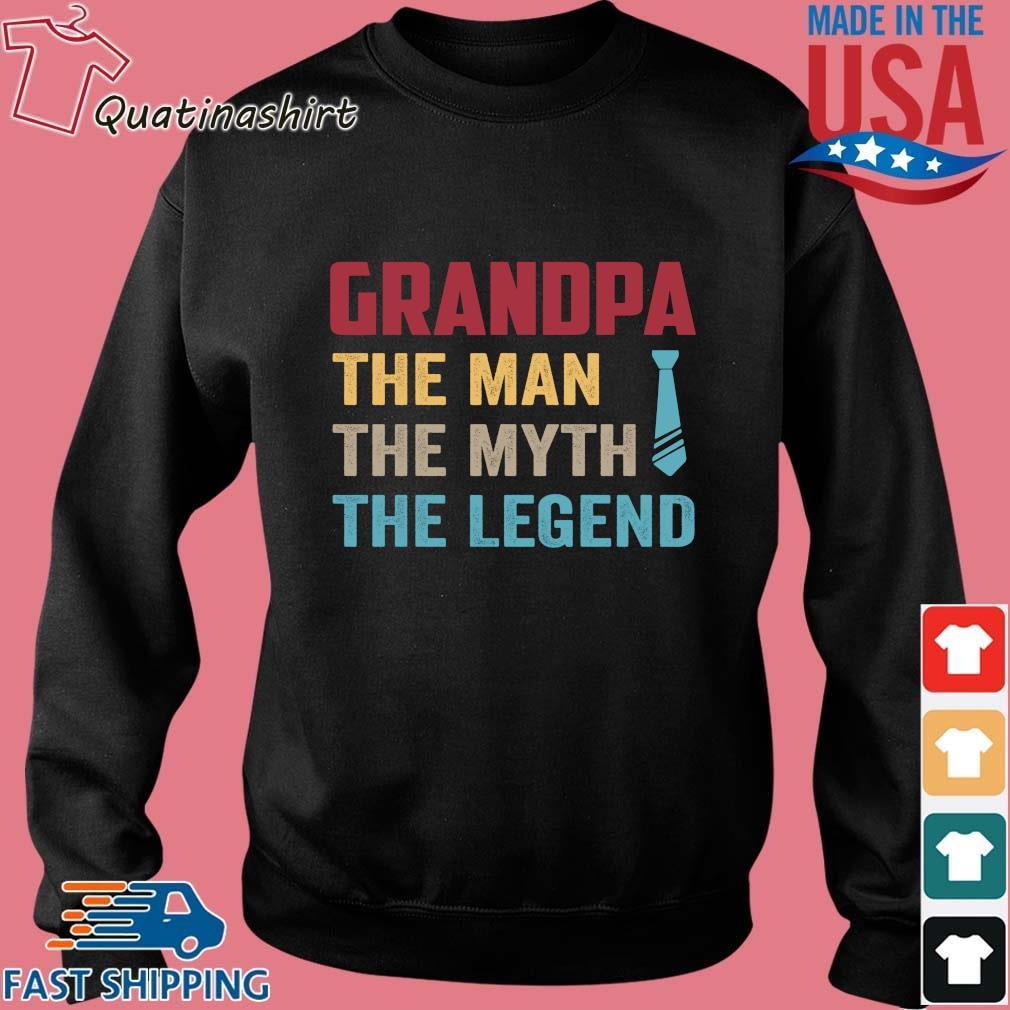 Grandpa the man the myth the legend vintage s Sweater den