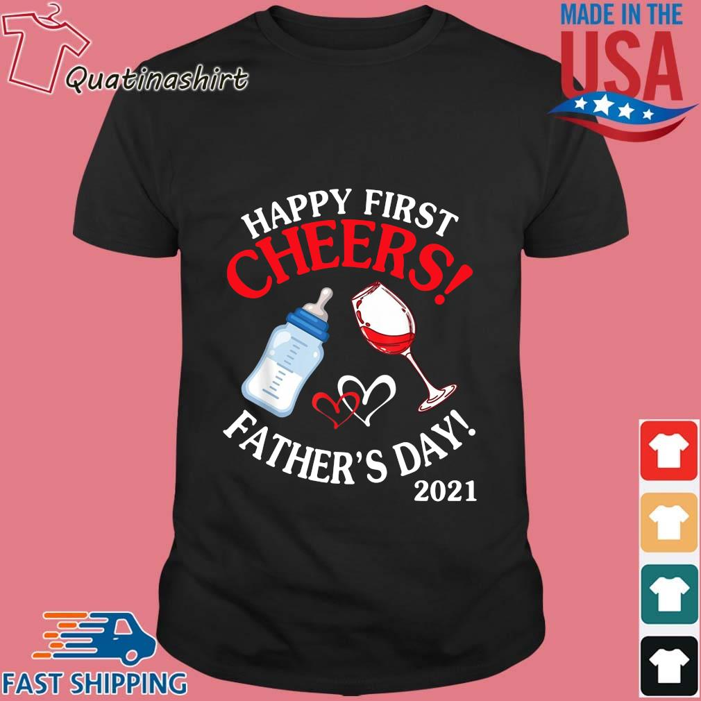 Happy first chers father's day 2021 shirt