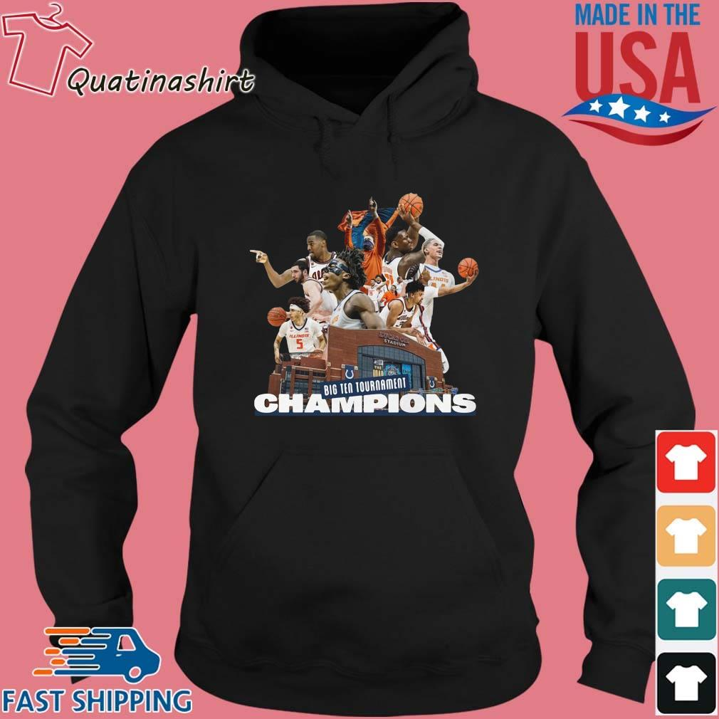 Illinois Fighting Illini Big Ten Tournament Champions Team Basketball Shirt Hoodie den
