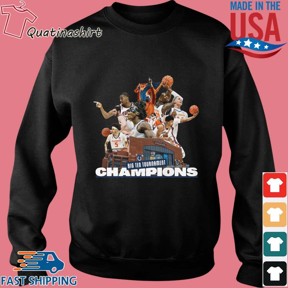 Illinois Fighting Illini Big Ten Tournament Champions Team Basketball Shirt Sweater den