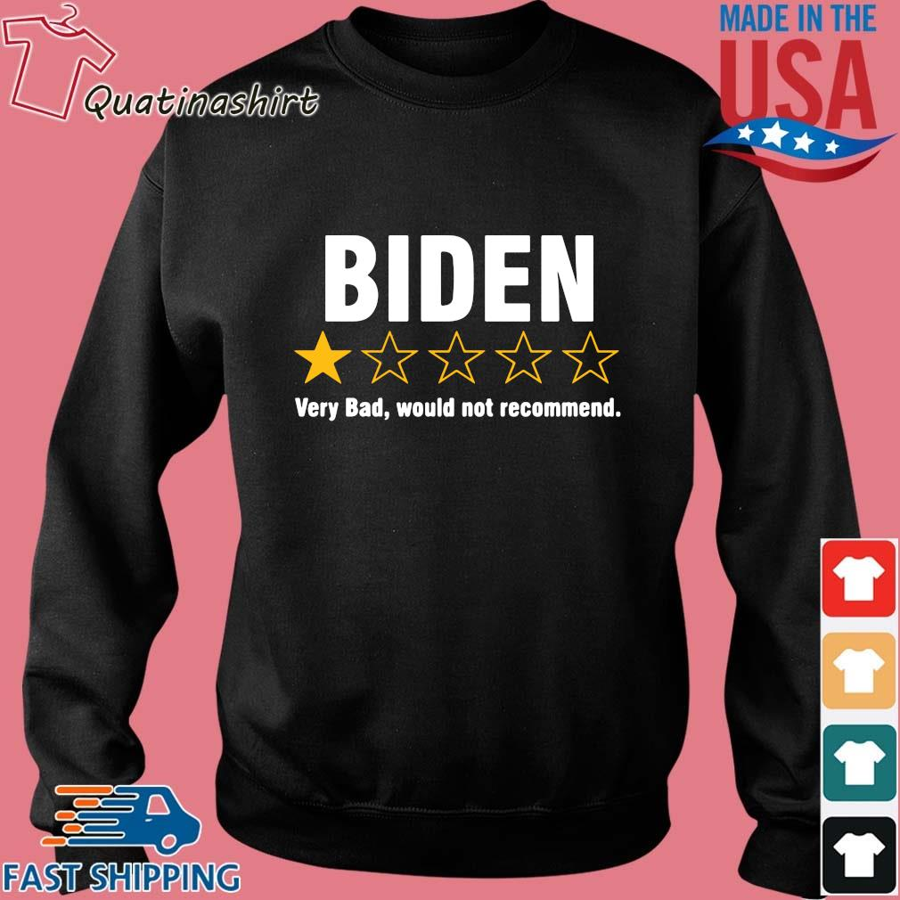 Joe Biden one star very bad would not recommend s Sweater den