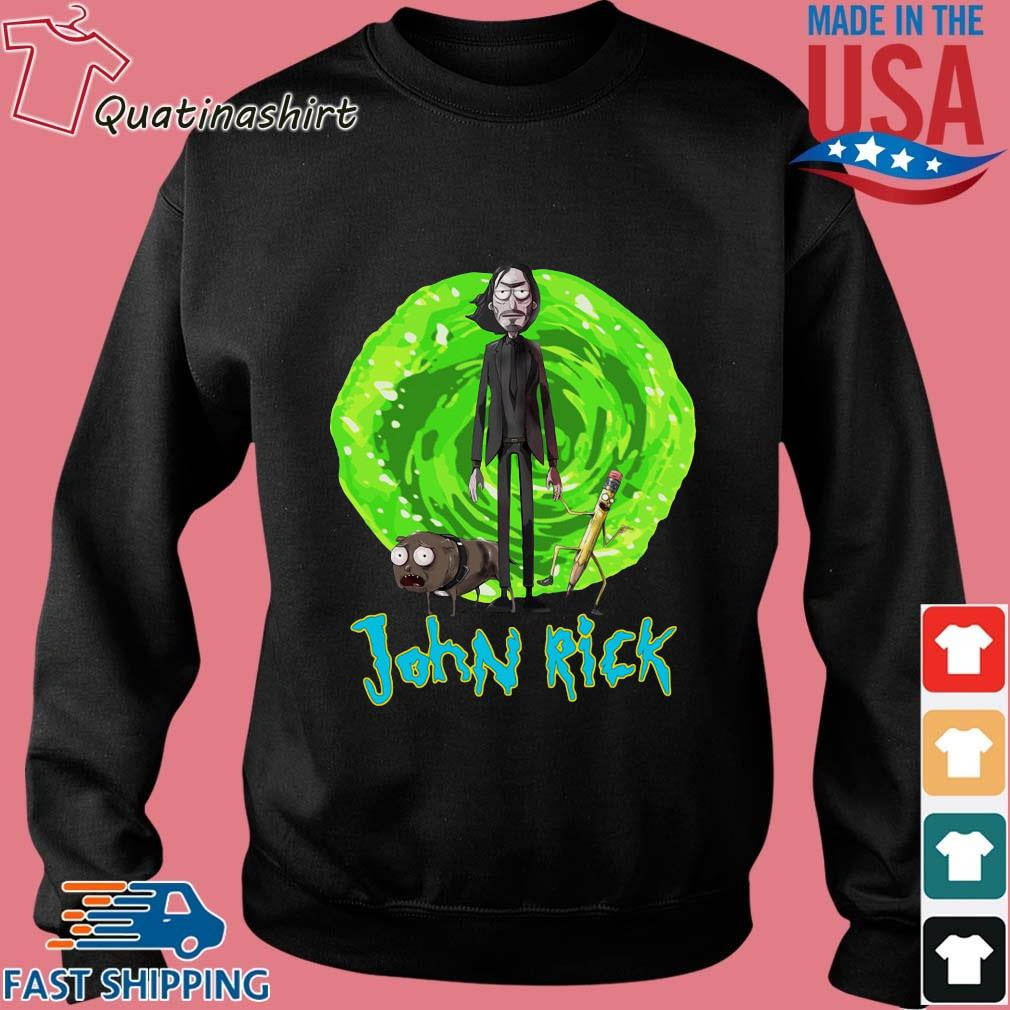 John Rick John Wick Rick And Morty Crossover Shirt Sweater den