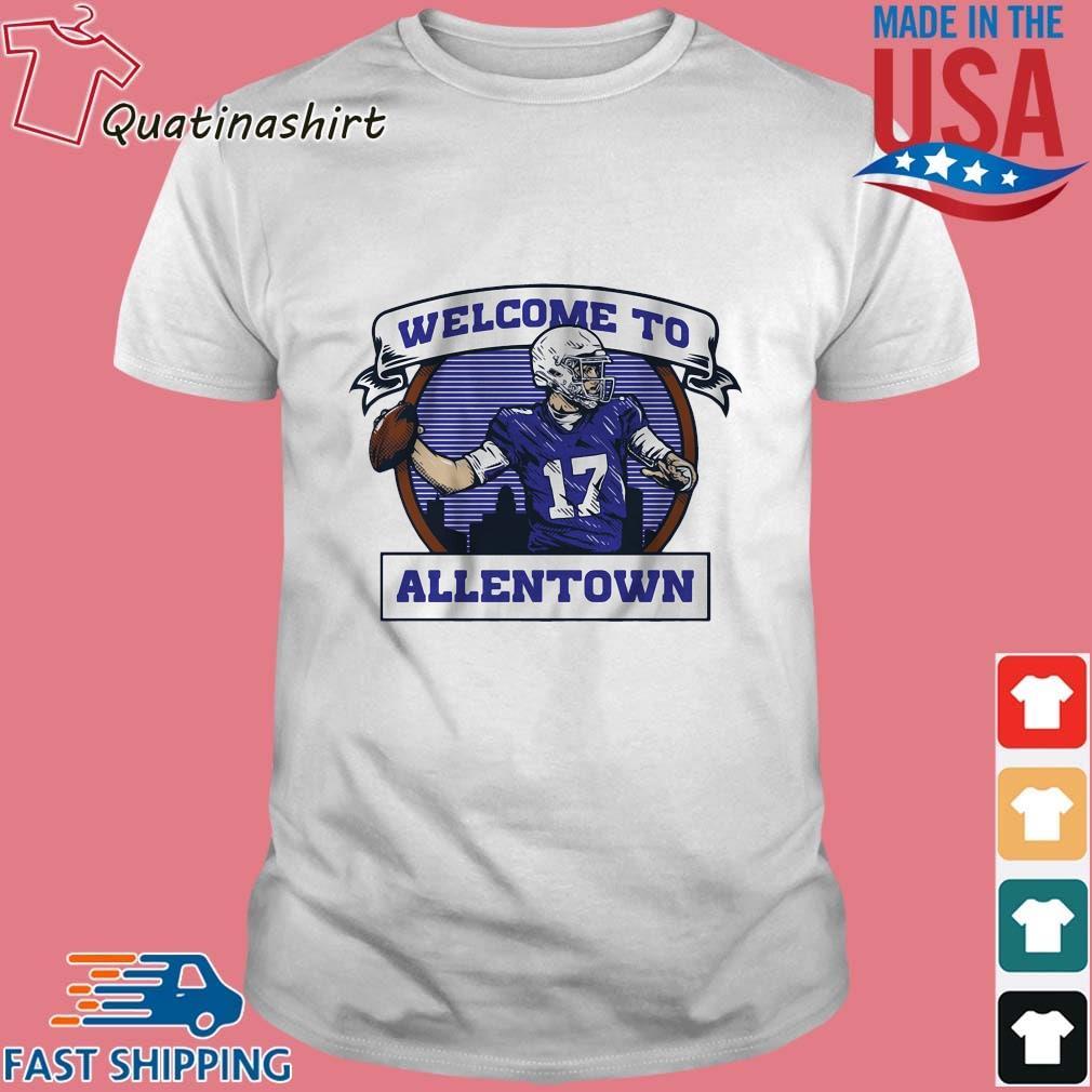 Josh Allen Welcome To Allentown T-Shirt