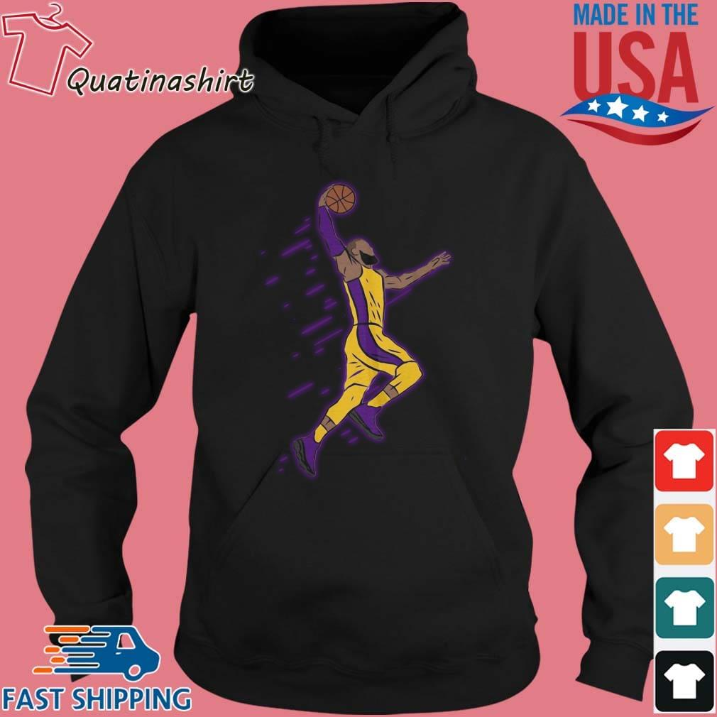 Lebron James Playing Basketball Shirt Hoodie den