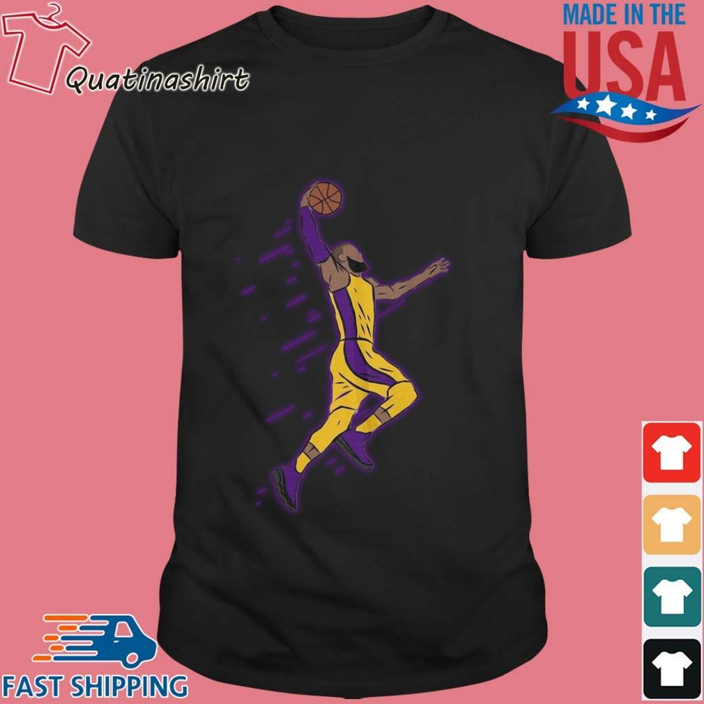 Lebron James Playing Basketball Shirt