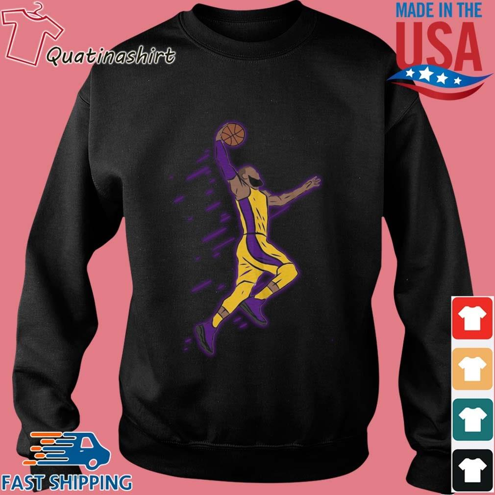Lebron James Playing Basketball Shirt Sweater den