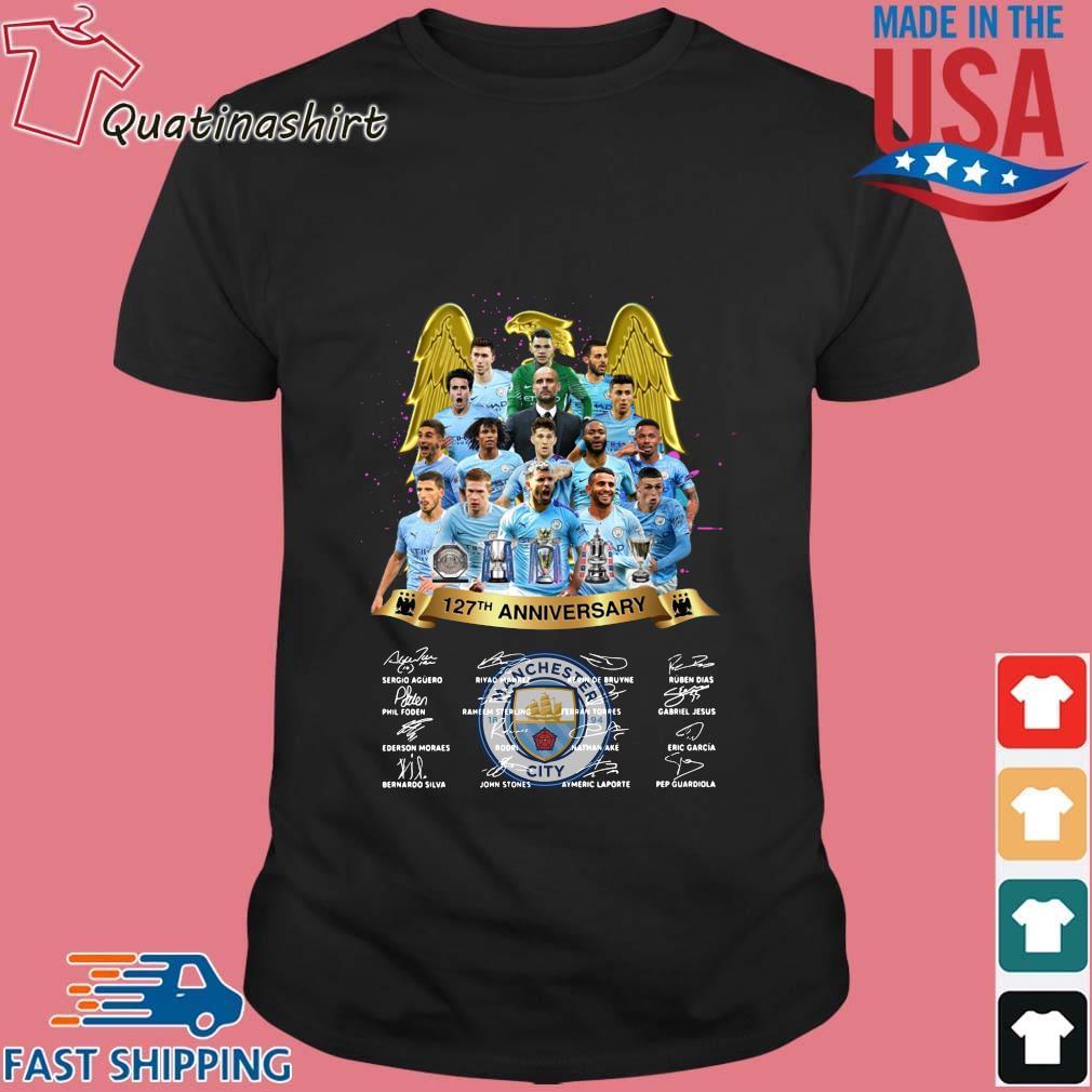 Manchester City 127th Anniversary Signatures Shirt