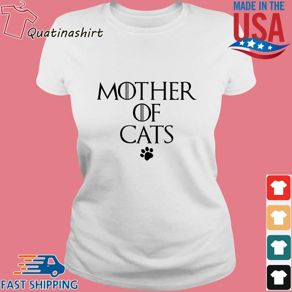 Mother Of Cats Paw Shirt Ladies trang