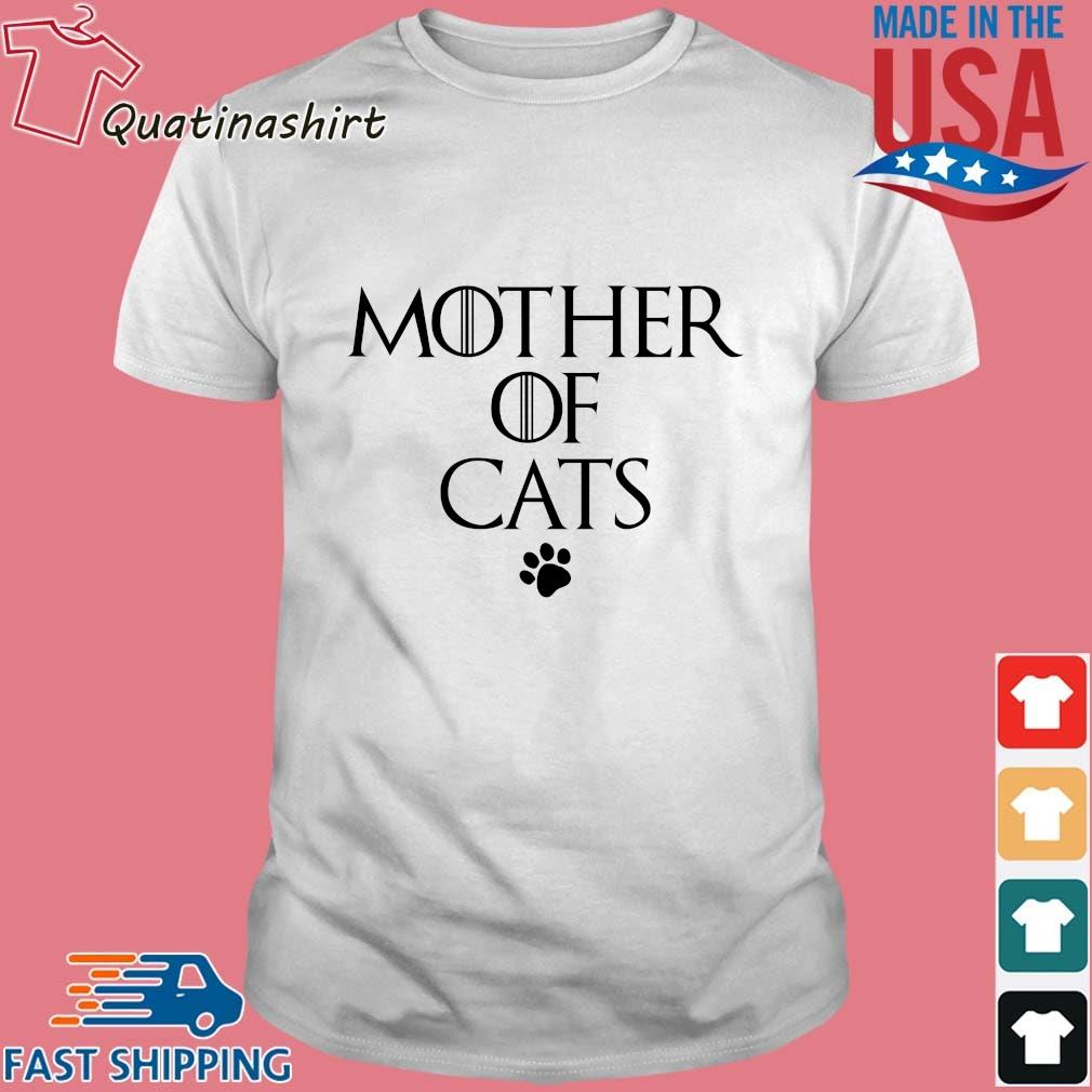Mother Of Cats Paw Shirt