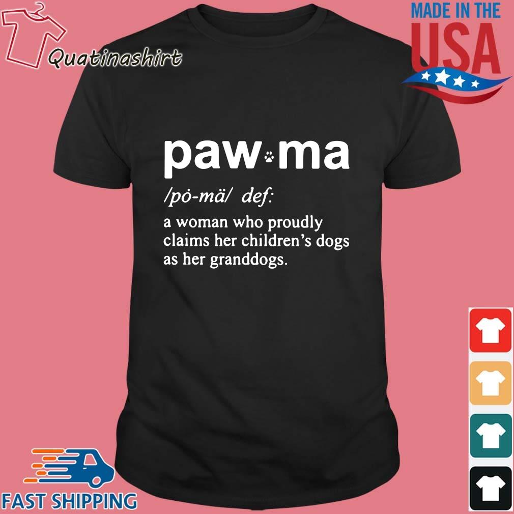 Paw Ma A Woman Who Proudly Claims Her Shirt