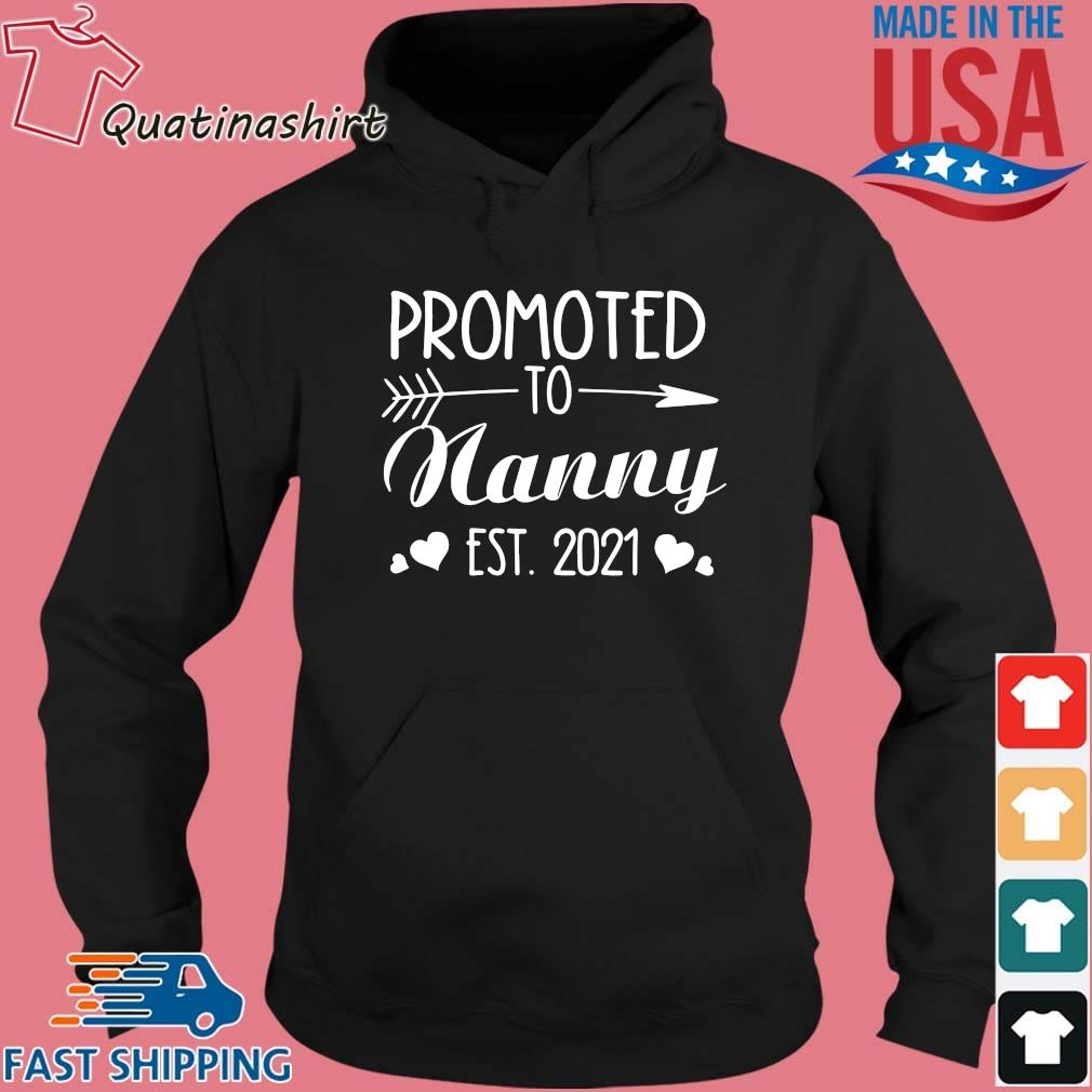 Promoted to nanny est 2021 s Hoodie den