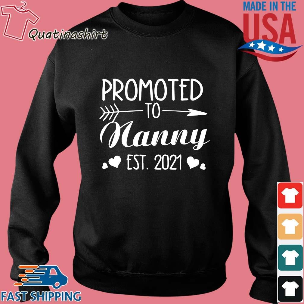 Promoted to nanny est 2021 s Sweater den