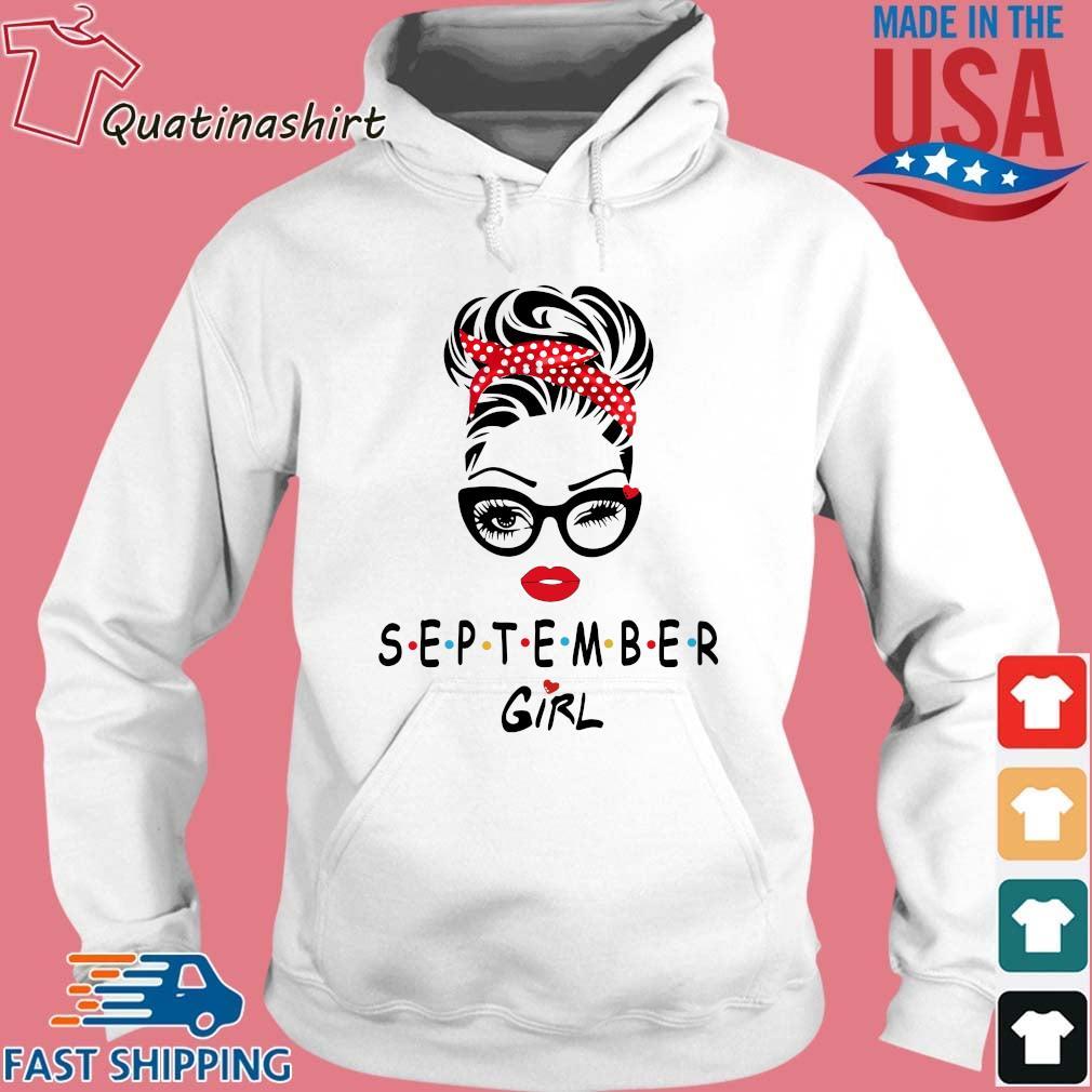 September Girl Friend Show TV 2021 Shirt Hoodie trang