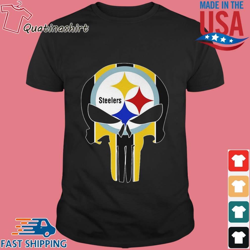 Skull Pittsburgh Steelers Logo Shirt