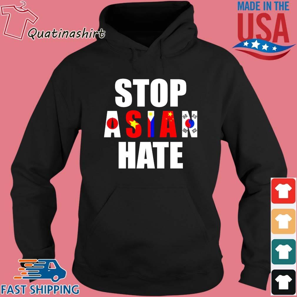 Stop Asian Hate Japan Vietnam Philippin China Korea Shirt Hoodie den
