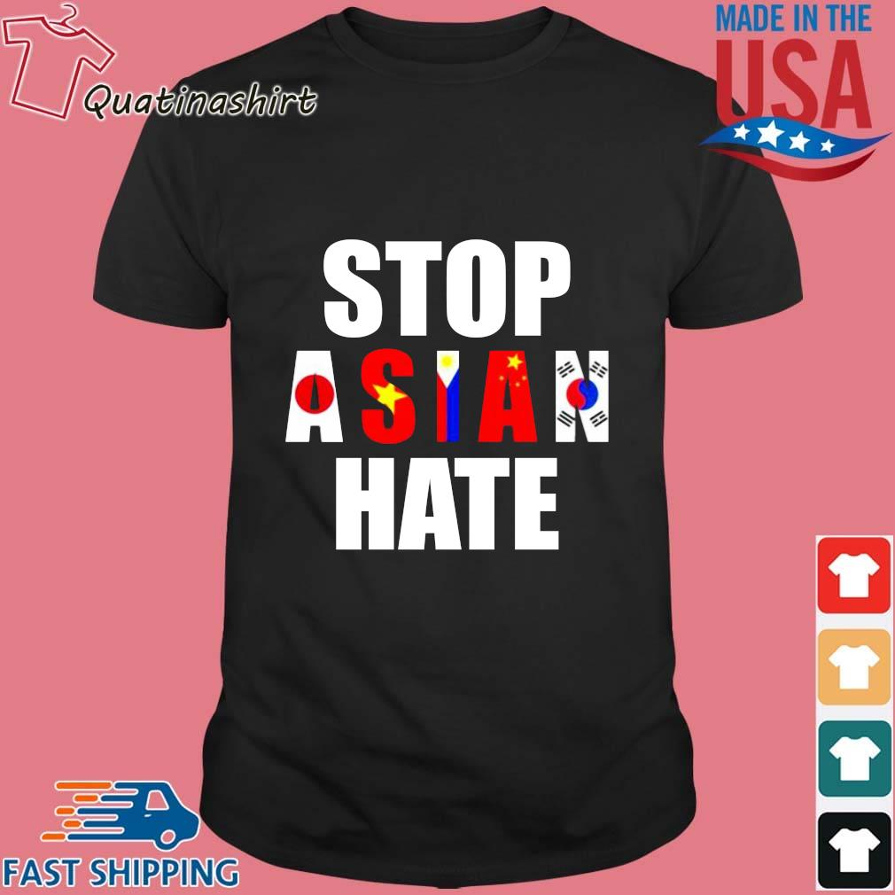 Stop Asian Hate Japan Vietnam Philippin China Korea Shirt