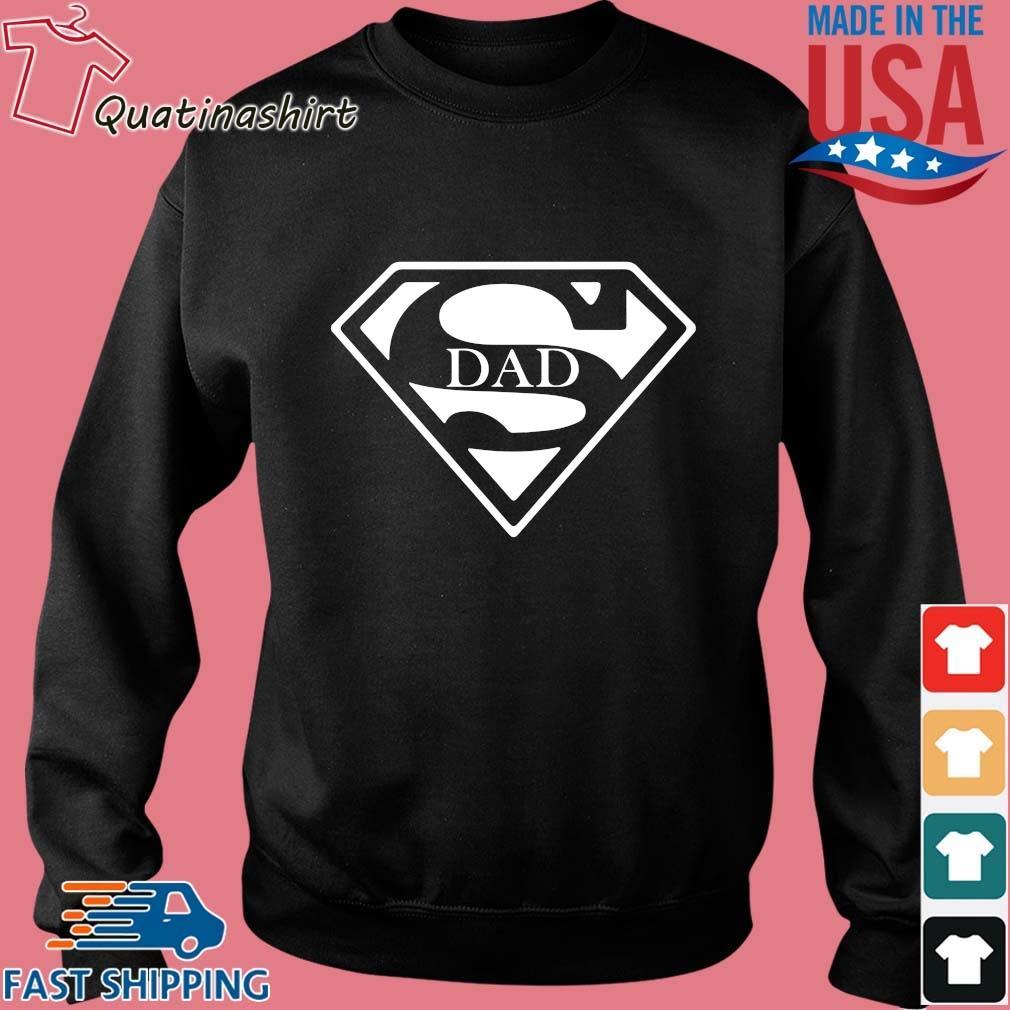 Superman Dad Shirt Sweater den