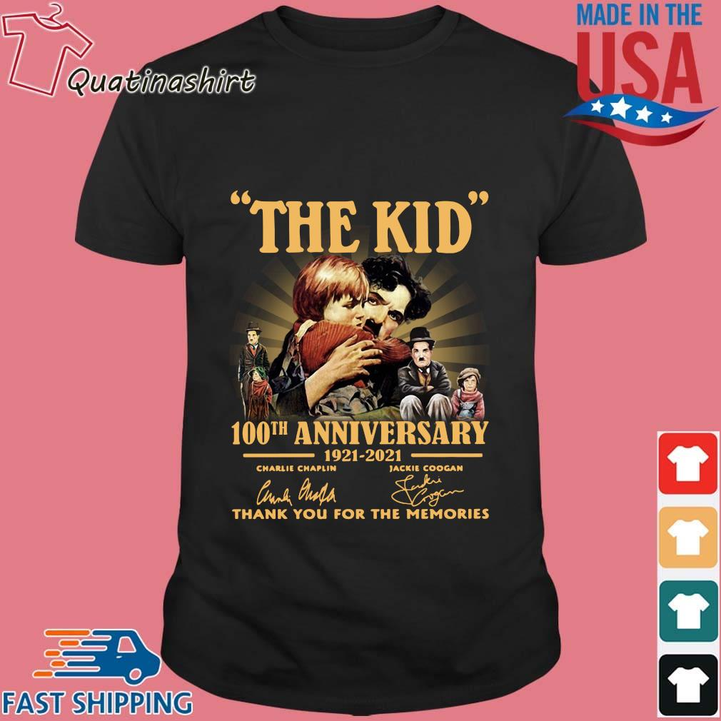 The Kid 100th anniversary 1921-2021 thank you for the memories signatures shirt
