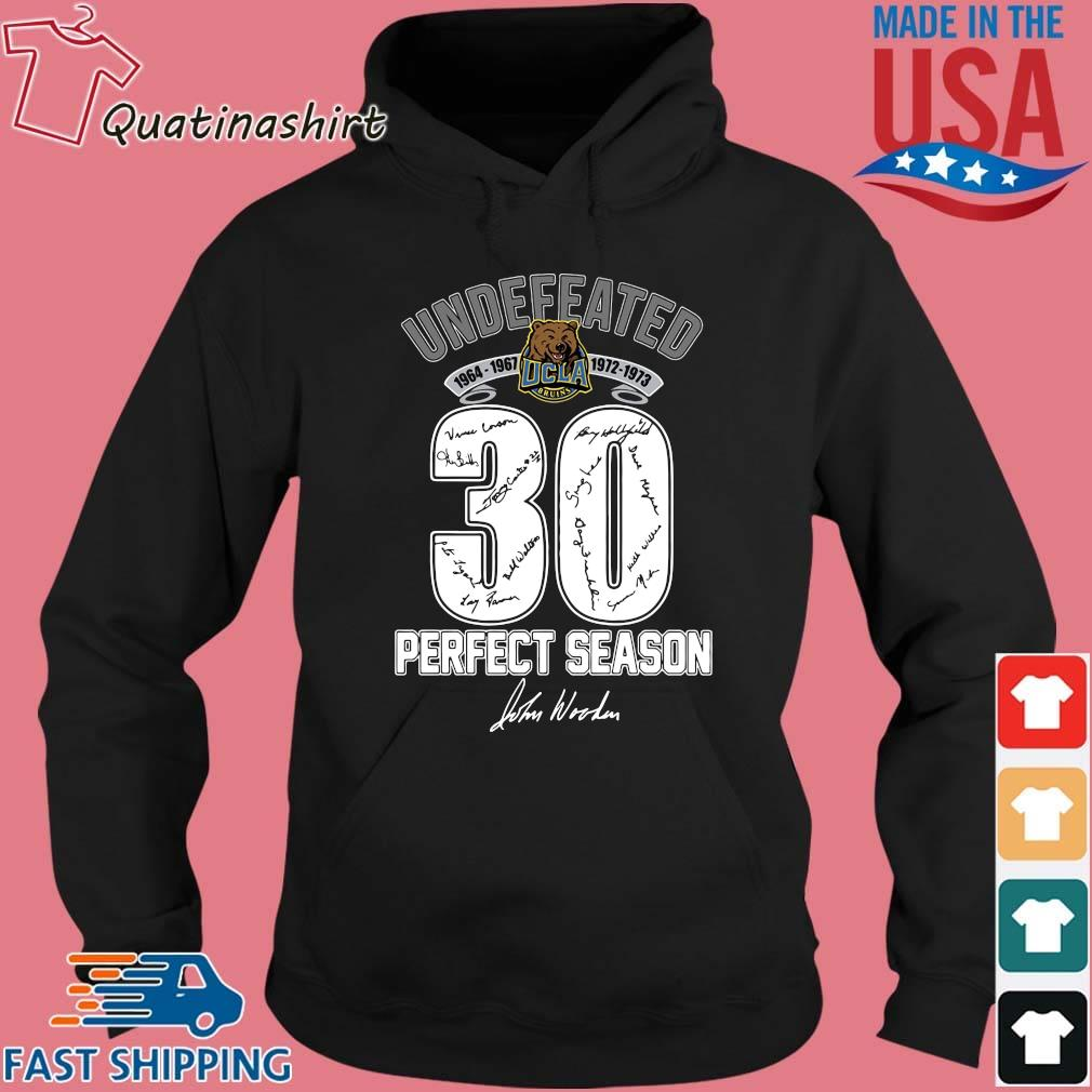 Ucla Bruins Undefeated 1964 1973 30 Perfect Season Signature Shirt Hoodie den