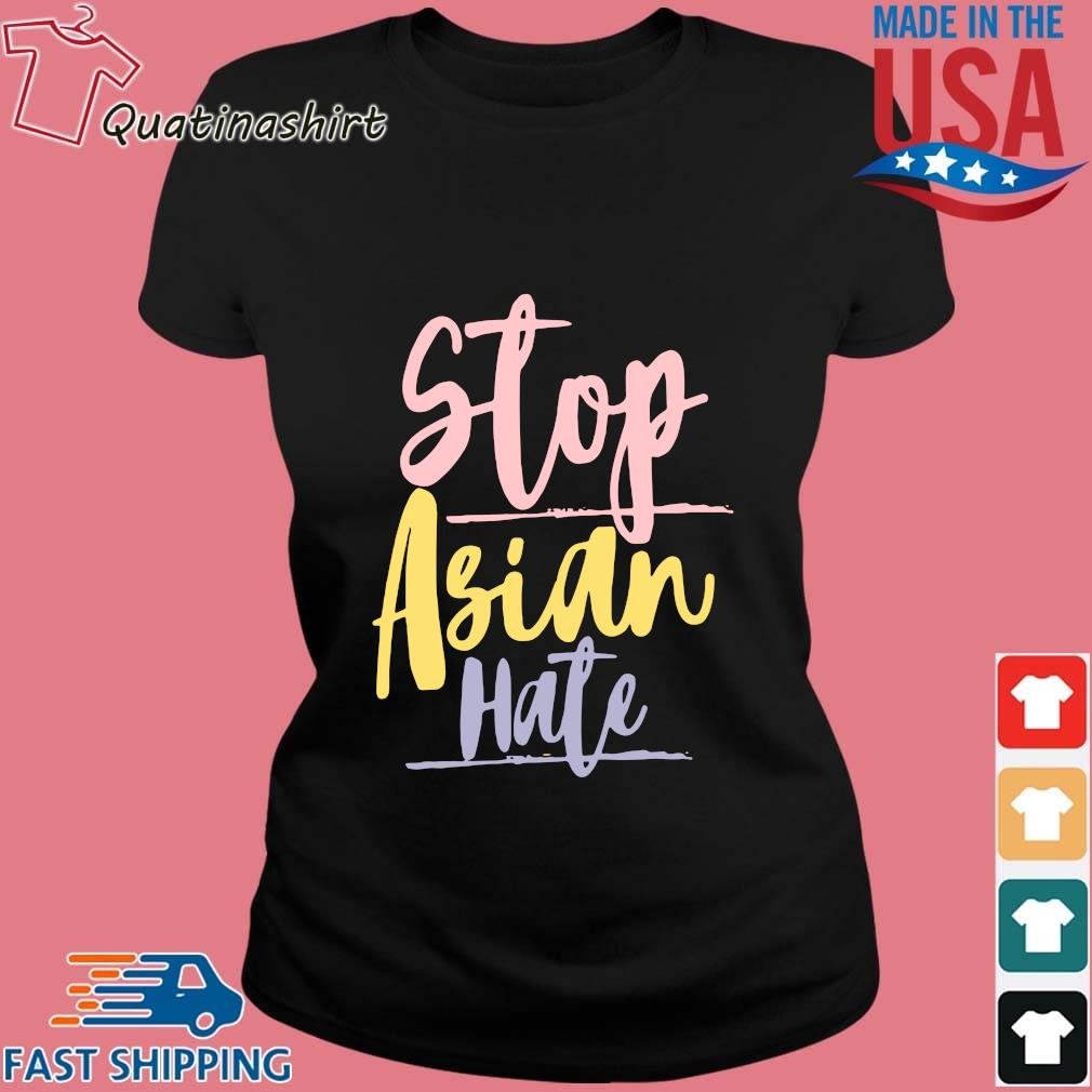 Vintage Stop Asian Hate Shirt Ladies den