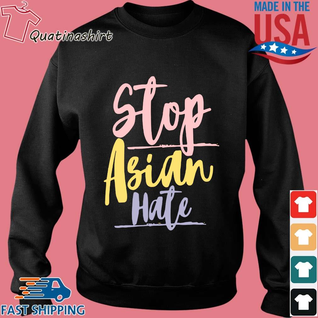Vintage Stop Asian Hate Shirt Sweater den