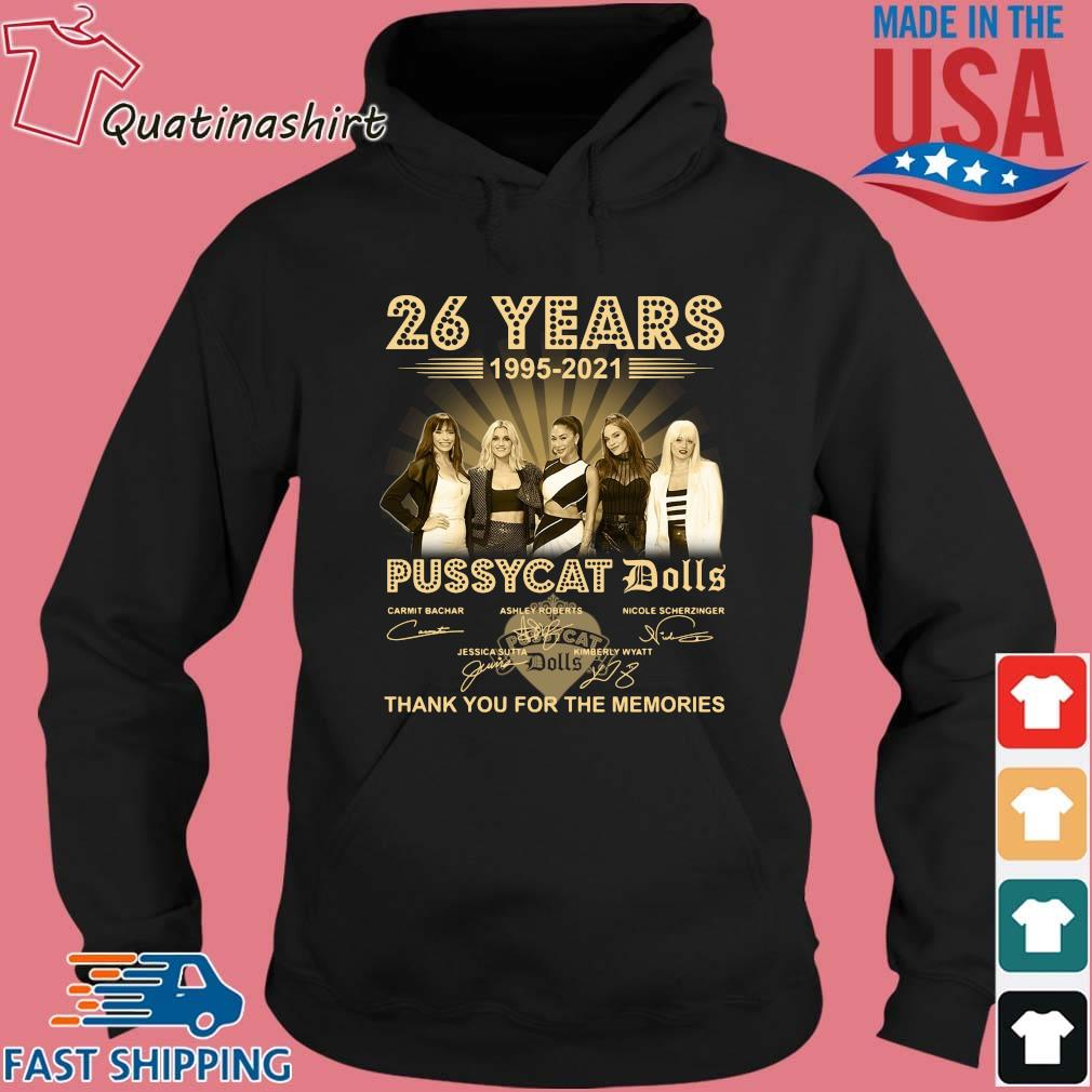 26 years 1995-2021 Pussycat Dolls thank you for the memories signatures s Hoodie den