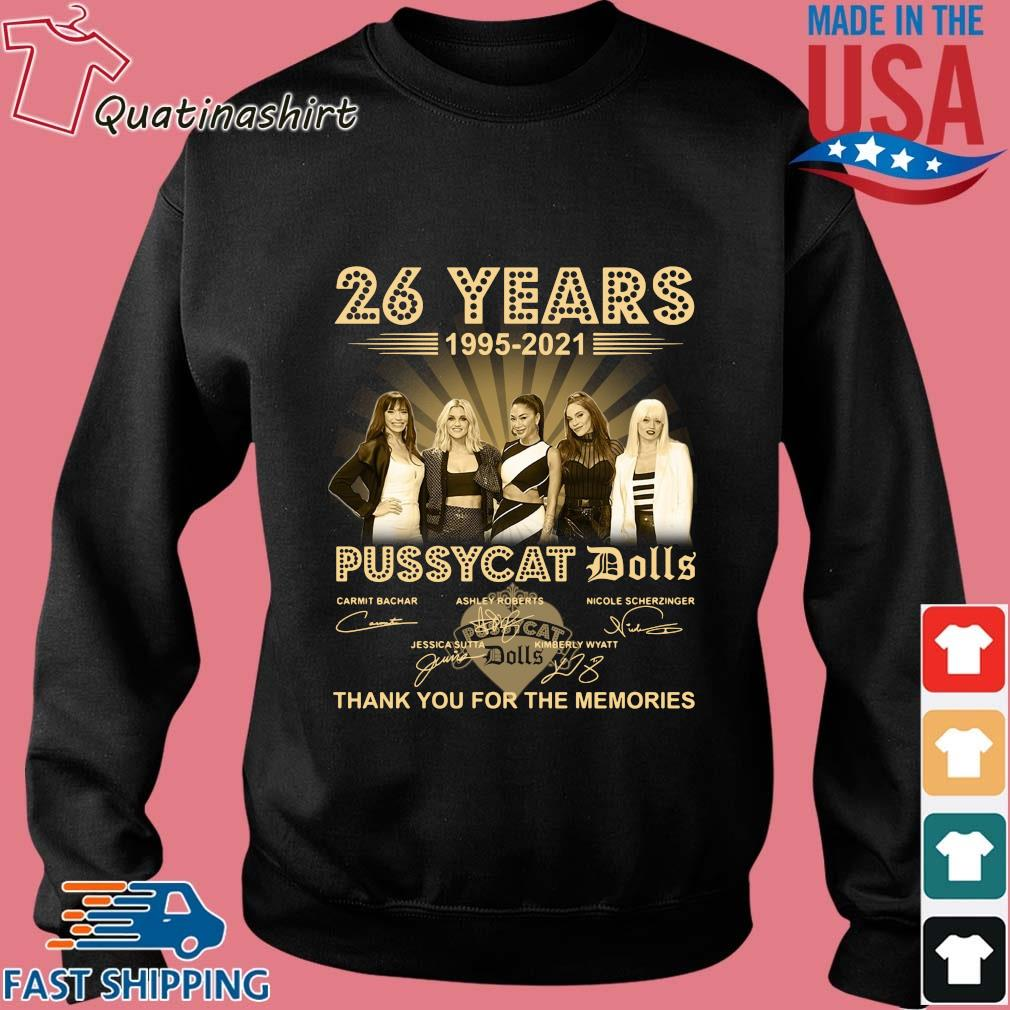 26 years 1995-2021 Pussycat Dolls thank you for the memories signatures s Sweater den