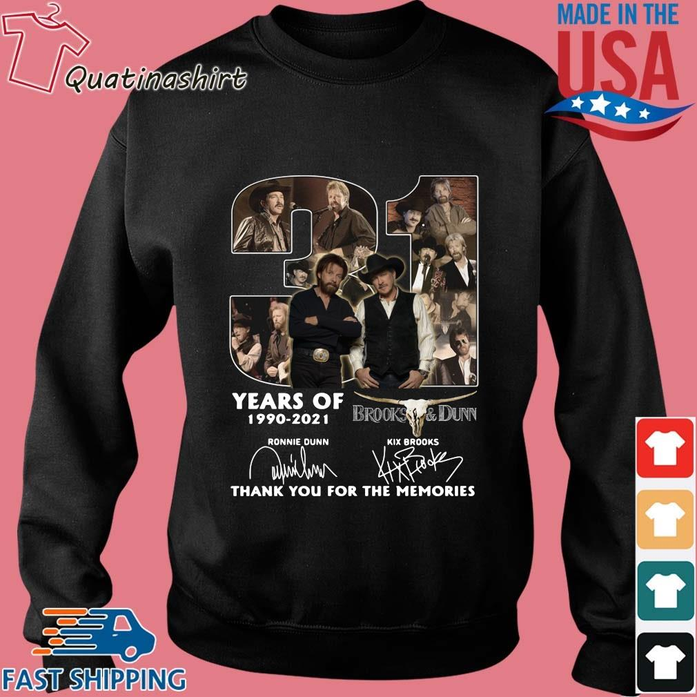31 Years Of 1990 2021 Brooks And Dunn Signatures Thank You Shirt Sweater den
