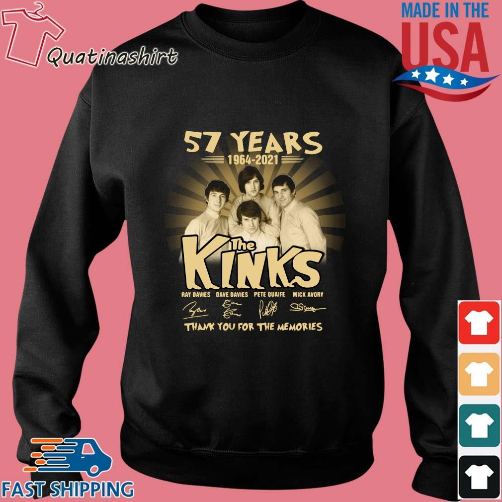 57 years 1964-2021 The Kinks thank you for the memories signatures s Sweater den