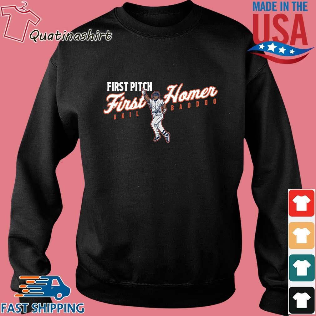 Akil Baddoo First Pitch First Homer Apparel Shirt Sweater den