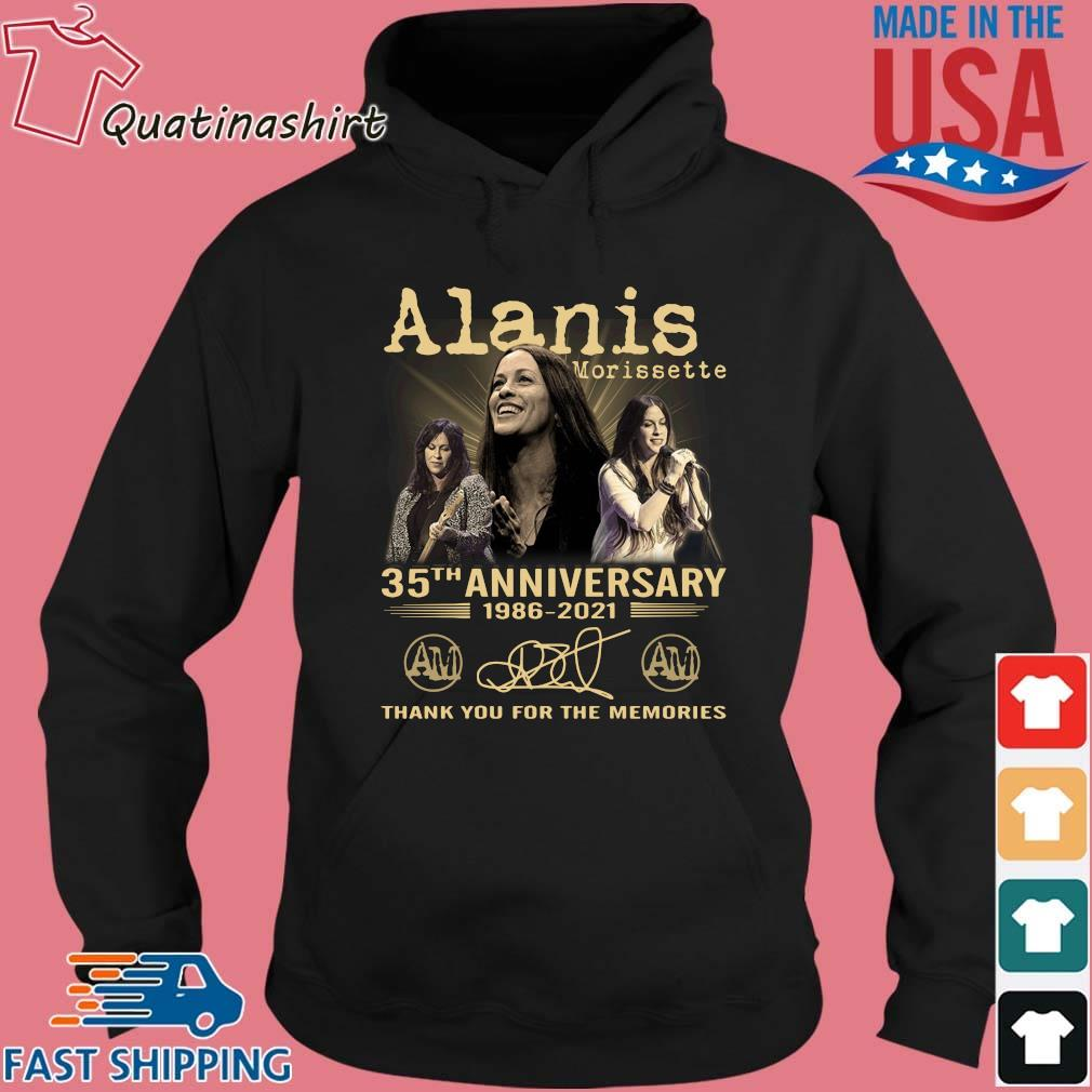Alanis Morissette 35th Anniversary 1986-2021 Thank You Shirt Hoodie den