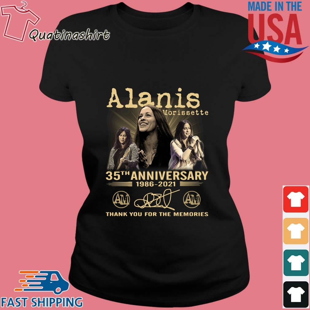 Alanis Morissette 35th Anniversary 1986-2021 Thank You Shirt Ladies den